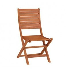 C-53940 Folding Side Chair | Oil Dipped
