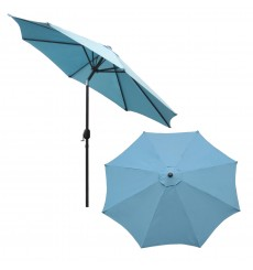 [108 Inch] Round Umbrellas With Tilt