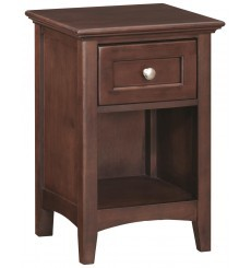 [18 Inch] McKenzie 1 Drawer Nightstand
