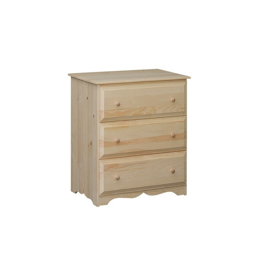 31 Inch Adams 3 Drawer Chest 8053 Simply Woods