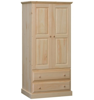 34 Inch Franklin Wardrobe 8025 Simply Woods Furniture