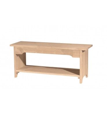 48 Inch Stonebrook Benches Simply Woods Furniture