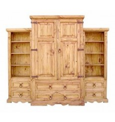 [94 Inch] 3 Piece Armoire Wall Groups