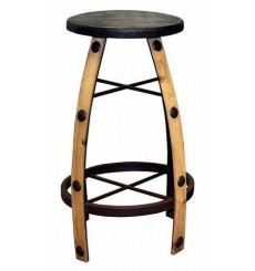 [30 Inch] Iron and Wood Barstools