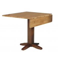 [36x36 Inch] Square Dropleaf Dining Table