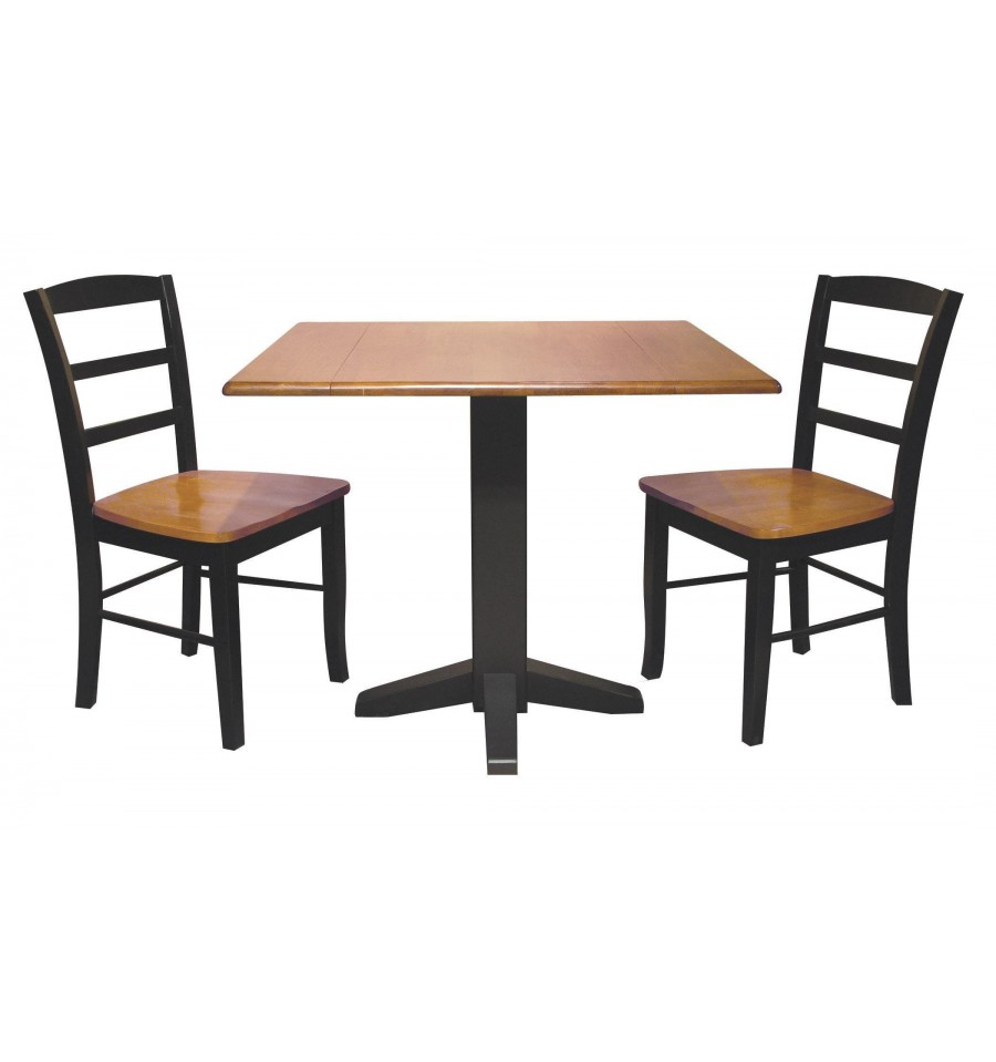36 Inch Square Kitchen Table: [36x36 Inch] Square Dropleaf Dining Table