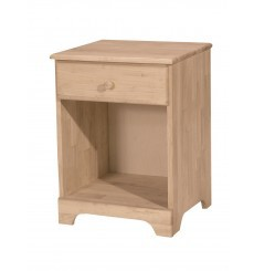[19 Inch] Jamison 1 Drawer Nightstand