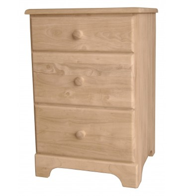 [19 Inch] Jamison 3 Drawer Nightstand