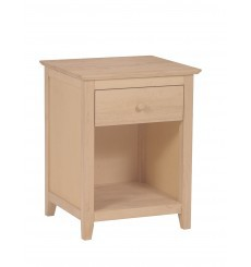 [20 Inch] Langley 1 Drawer Nightstand