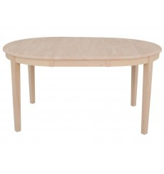 [42-60 Inch] Oval Ext. Dining Table