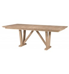 [68x40] Athena Extension Dining Table