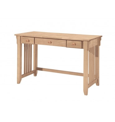 47 Inch Mission Computer Desk Simply Woods Furniture