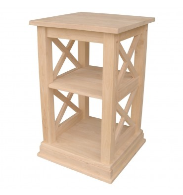 [16 Inch] X Side Richmond Accent Table