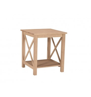 [22 Inch] X Side Richmond End Table