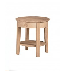 [21 Inch] Phoebe Round End Table