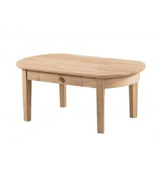 [42 Inch] Phoebe Oval Coffee Table