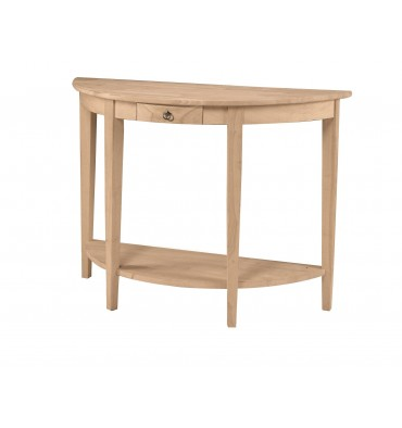 [43 Inch] Half Moon Entry Table