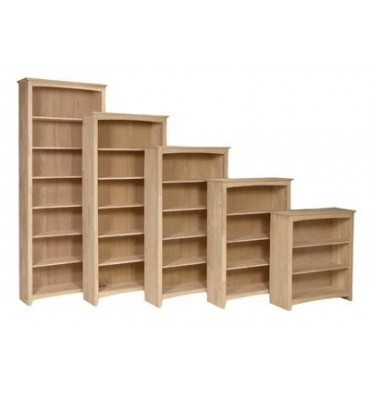 32 Inch Parawood Shaker Bookcases Simply Woods