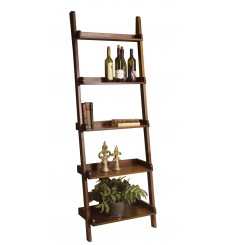 [26 Inch] Leaning Ladder Bookshelf