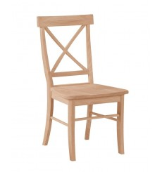 Single X Side Chairs