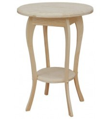 [19 Inch] Queen Anne Round Table 137