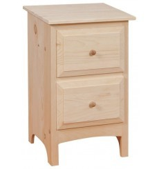 [18 Inch] 2 Drawer Nightstand 722