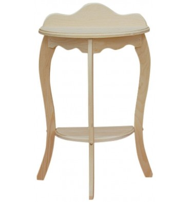 20 Inch Half Round Table 133 Simply Woods Furniture
