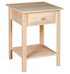 [20 Inch] White Horse Side Table 414