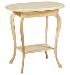 [26 Inch] Queen Anne Oval Table 280