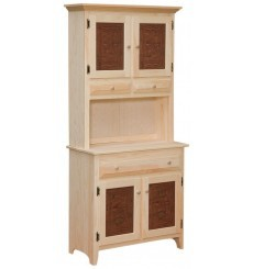 [35 Inch] Primitive Hutch 548