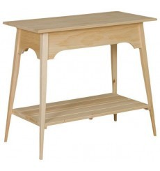 [35 Inch] Shaker Slat Table 376
