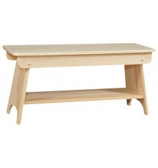 [36 Inch] Bench with Shelf 281