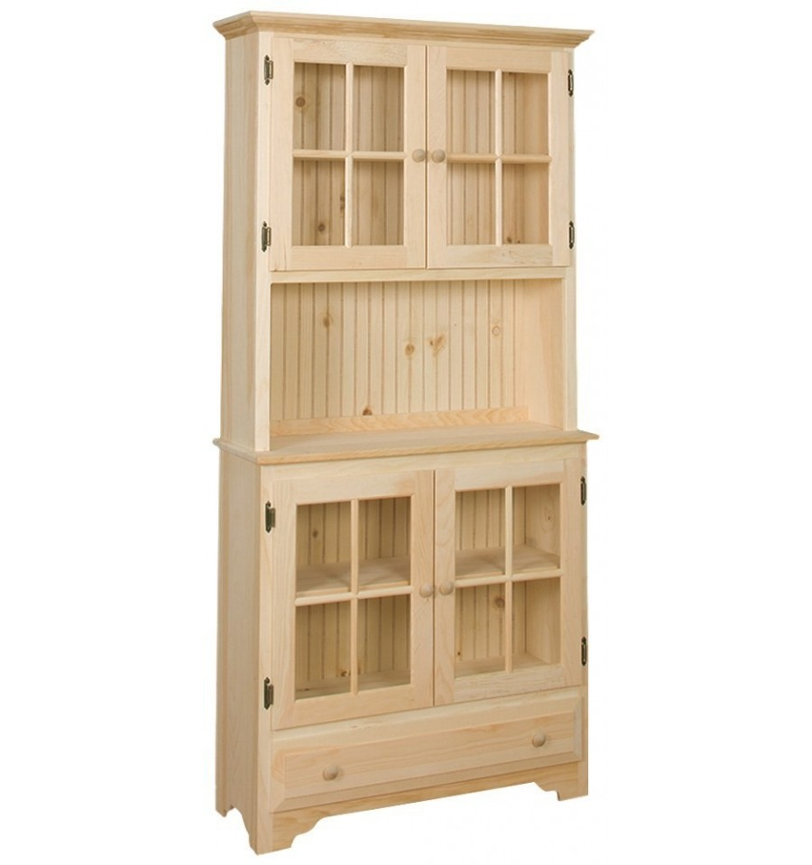 Country Kitchen Hutches: [36 Inch] Country Hutch 298