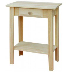 [22 Inch] White Horse Entry Table 146