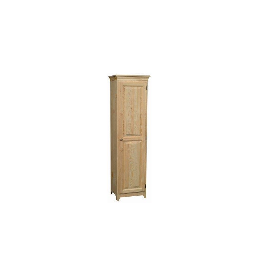 Home furniture by collection rustic pine furniture bookcases - 20 Inch Afc 1 Door Pantry 72 Quot H Simply Woods Furniture