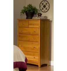 [33 Inch] Alder Shaker 6 Drawer BC Chest