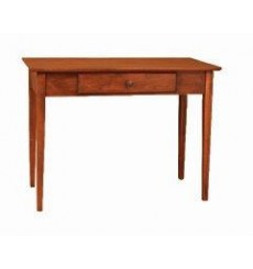 [40 Inch] Alder Shaker Writing Table - shown in Antique Cherry finish