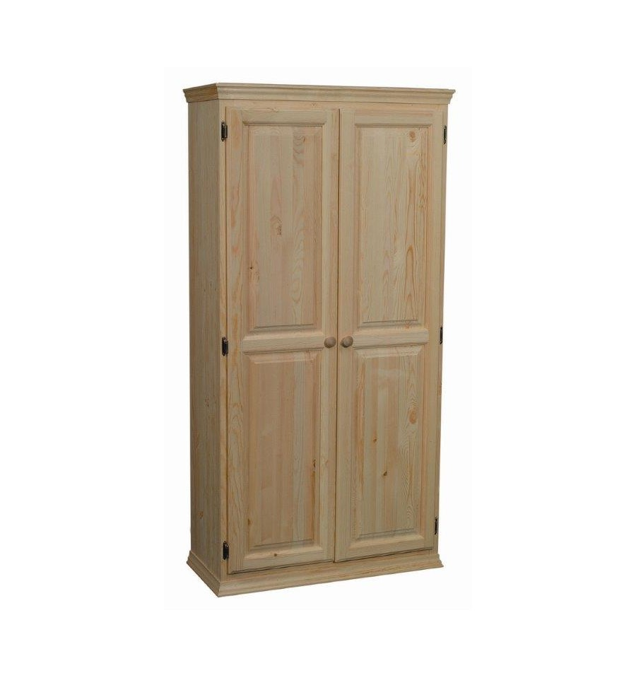 36 Inch Afc 2 Door Pantry 70 H Simply Woods Furniture Pensacola Fl