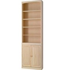 [24-48 Inch] AFC Bookcases with Doors
