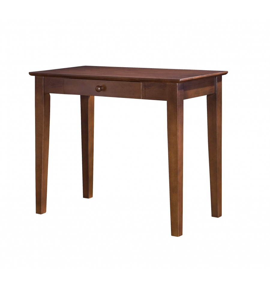 36 Inch Shaker Writing Table Simply Woods Furniture
