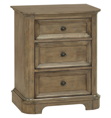 26 Inch Stonewood 3 Drawer Nightstand Simply Woods