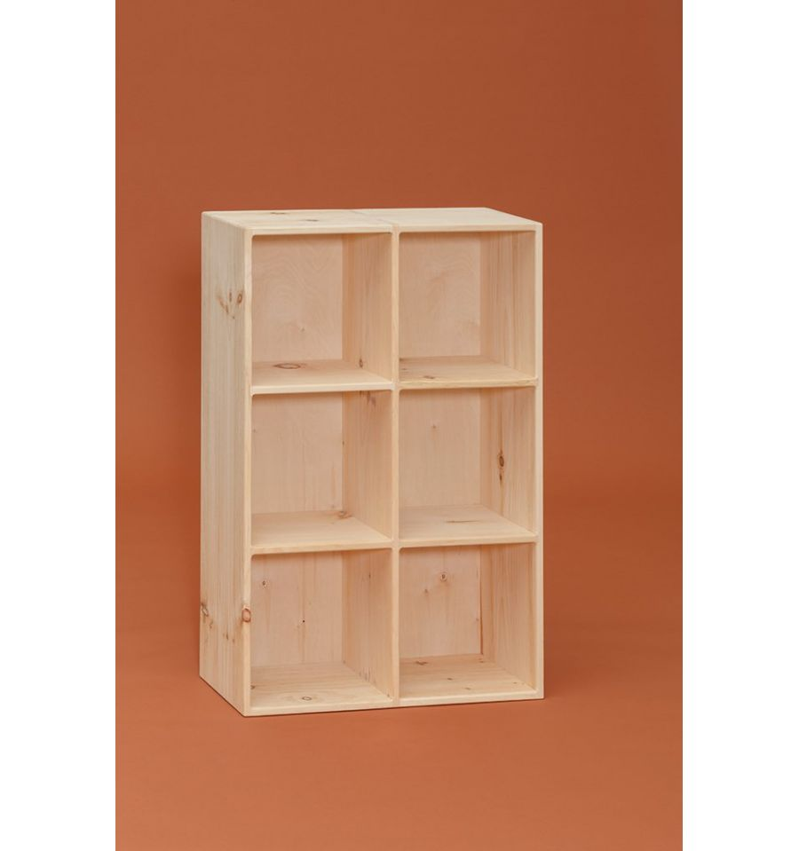 27 Inch Amish 2x3 Cube Cubby 776 Simply Woods