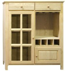 [50 Inch] Country Wine Cabinet