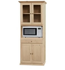 [34 Inch] Microwave Armoire 763