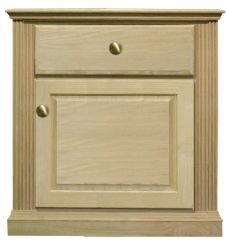[23 Inch] Fluted 1 Drawer Nightstand v2