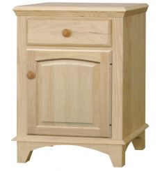 [21 Inch] Hampshire 1 Drawer Nightstand v2