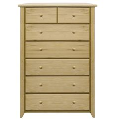 [34 Inch] New Shaker 7 Drawer Chest