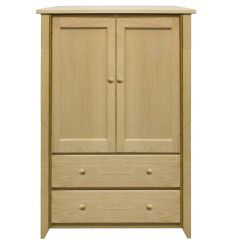 [34 Inch] New Shaker Armoire