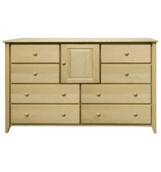 [58 Inch] New Shaker 8 Drawer Dresser