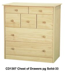 [34 Inch] Sierra 7 Drawer Chest v2